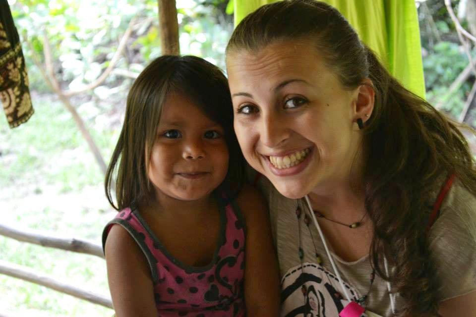 Ação missionária foi um dos momentos fortes no ENPJ, para Aline Ogliari (Foto: Pastoral da Juventude/Divulgação)