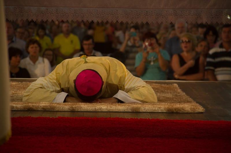 """Lema do novo bispo é """"Estou no meio de vós como aquele que serve"""" (Lc 22,27c),"""