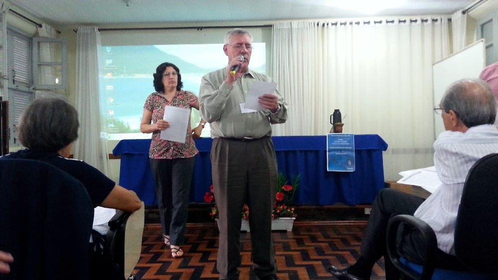 Padre Sauthier vê crescimento de procura por cursos para leigos no RS (Foto: Marcelo Lui Zapelini/Agência CNBB Sul 4 de Notícias)