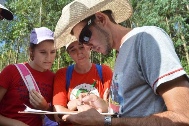 5a. edição da trilha ecológica manteve a tradição seguir o tema da Campanha da Fraternidade (Foto: Diocese de Chapecó/Divulgação)