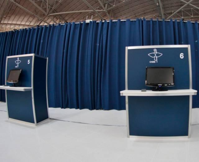 Voto eletrônico é inédito em eleições da CNBB (Foto: CNBB/Divulgação)