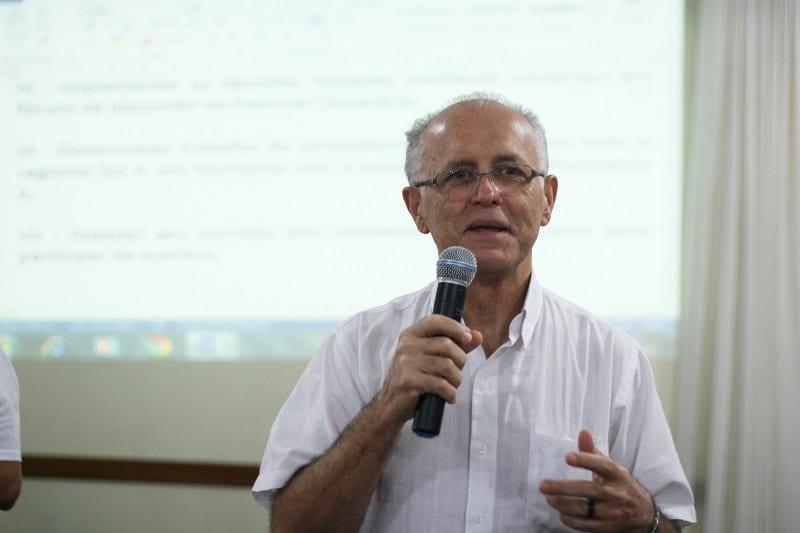 """Padre Silveira: """"Sistema prisional é um lugar de violação de direitos, onde a lei não é cumprida"""" (Foto: Marcelo Luiz Zapelini/CNBB Sul 4)"""