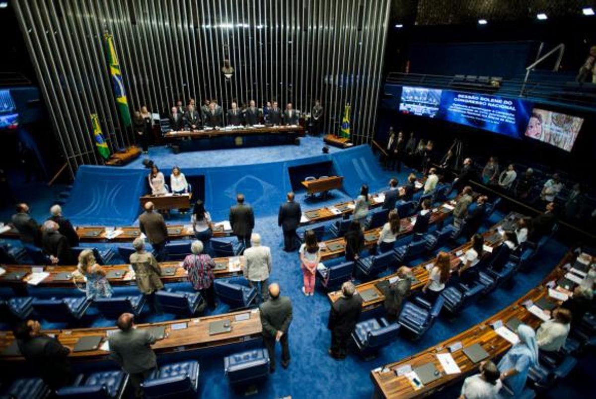 Sessão solene do Congresso Nacional em homenagem à campanha da fraternidade de 2016, que trata do tema: Casa comum, nossa responsabilidadeMarcelo Camargo/Agência Brasil