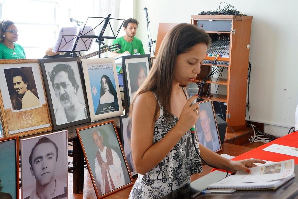 Martires ganham lugar no altar da igreja do Alto da Caieira (Foto: Marcelo Luiz Zapelini/Agência Sul 4)