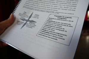 A Práticas restaurativas visam a resolução de conflitos em diversos ambientes com técnicas que permitem a comunicação não violenta (Foto: Marcelo Luiz Zapelini/Agência Sul 4)