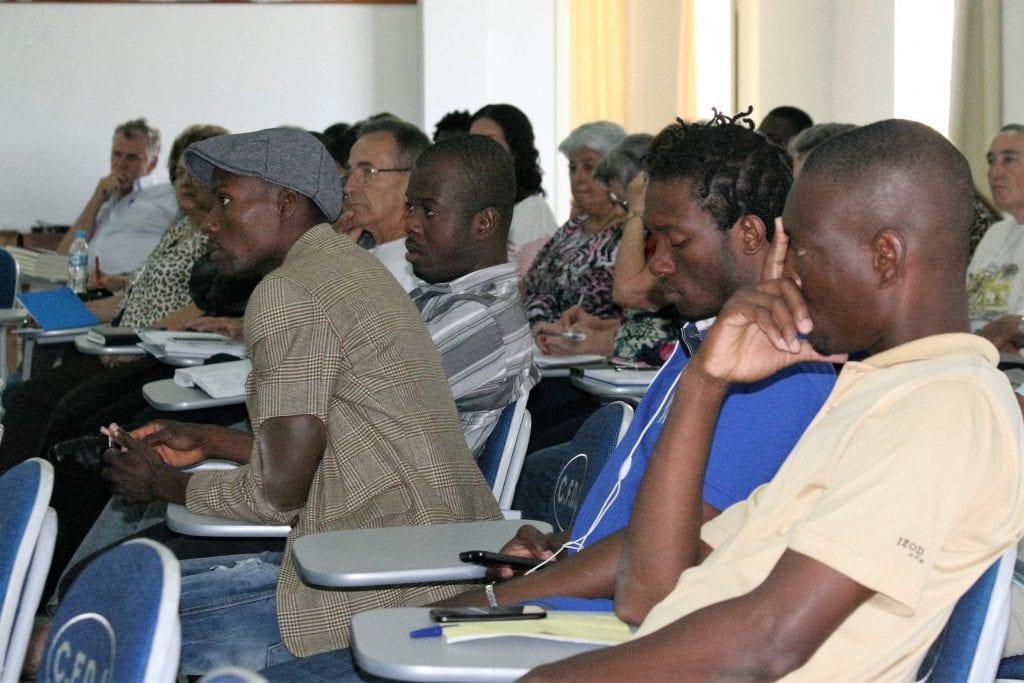 Seminário das Pastorais Sociais sobre migrações contou com a participação indivíduos de seis nacionalidades, incluindo Argentina, Gana e Togo (Foto: Marcelo Luiz Zapelini/Agência Sul 4)
