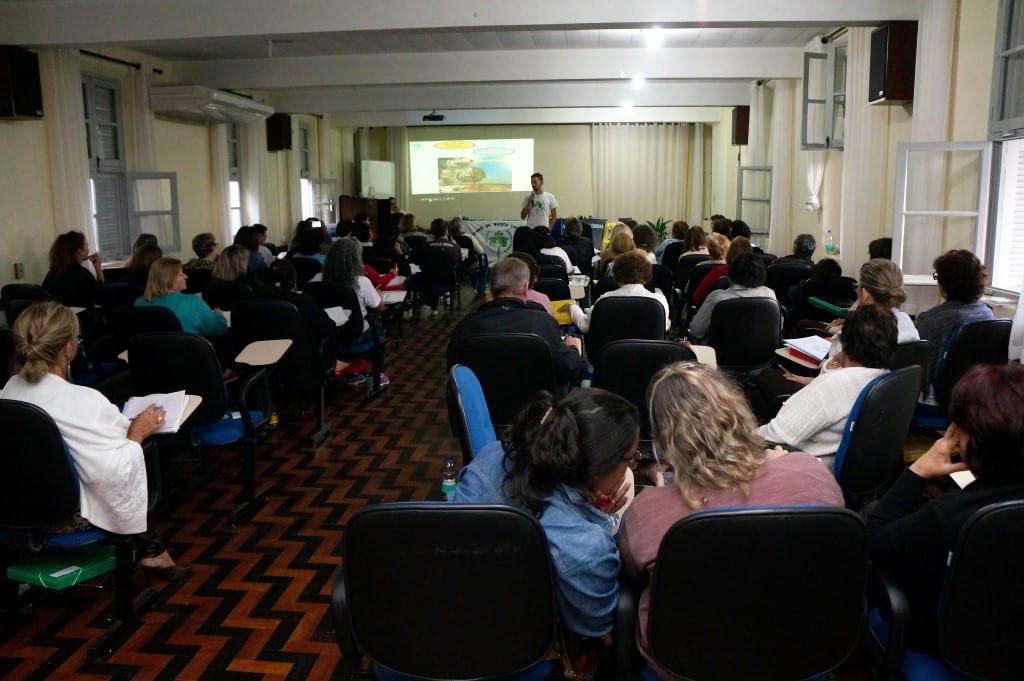 Fortalecimento da missão é o principal objetivo do encontro regional da Pastoral da Criança. (Foto: Marcelo Luiz Zapelini/Agência Sul 4)