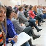 """Joceli Daga, professora em Nova Itaberaba, vê que para superação dos desafios do campo é necessário união. As trocas de experiência no encontro das CEBs """"mexem com as emoções"""", acrescenta. (Marcelo Luiz Zapelini/Agência Sul 4)"""