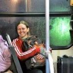 """A estudante esta estudante de Ciências Naturais e Matemática Kelli Buss escolheu a tenda """"campo"""", no Assentamento Dom José Gomes, por que será uma educadora campesina. (Marcelo Luiz Zapelini/Agência Sul 4)"""