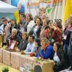 Delegados de Joinville organizam foto oficial no intervalo para o lanche. (Marcelo Luiz Zapelini/Agência Sul 4)