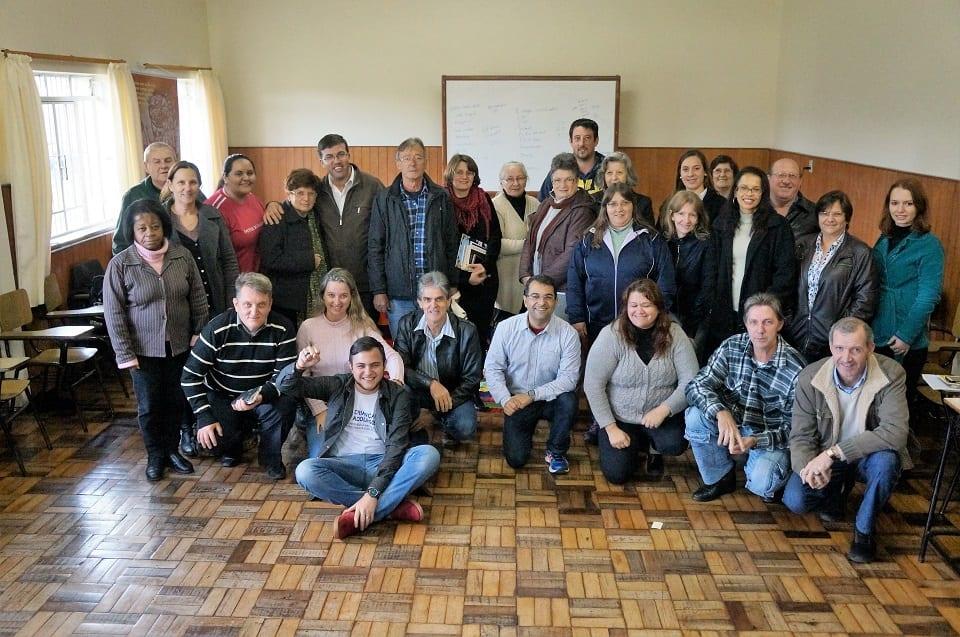 Primeiro Fórum das Pastorais Sociais, ocorreu em Lages (Foto: Marcelo Luiz Zapelini/Agência Sul 4)