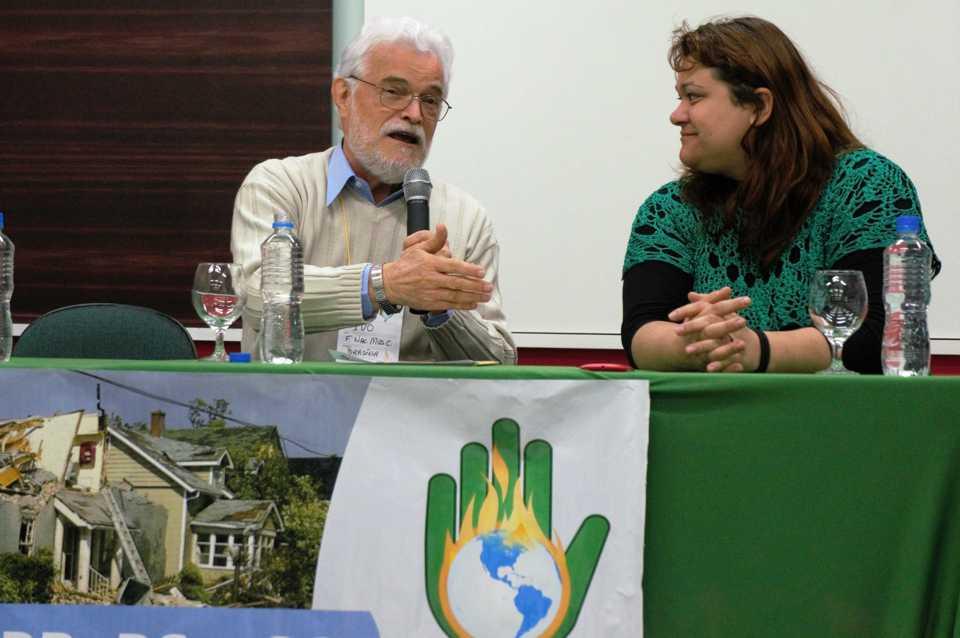 A necessidade da terra e da comunidade dos seres vivos vem antes das necessidades humanas, na opinião de Ivo Poletto, Secretário Executivo do Fórum Mudanças Climáticas e Justiça Social. (Marcelo Luiz Zapelini/Agência Sul 4)
