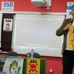 """O engenheiro Juliano Bueno de Araújo, coordenador da ONG Coesus Brasil, avisou que Santa Catarina está na mira da exploração de Xisto, o """"gás da morte"""". (Marcelo Luiz Zapelini/Agência Sul 4)"""