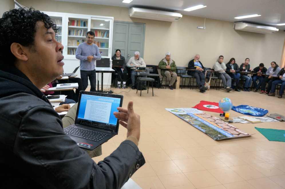 Delegado do Paraná diz que plenárias estaduais, jornada agroecológica do MST e conversa com jornalistas estão entre iniciativas propostas para combate de mudanças climáticas no estado. (Marcelo Luiz Zapelini/Agência Sul 4)