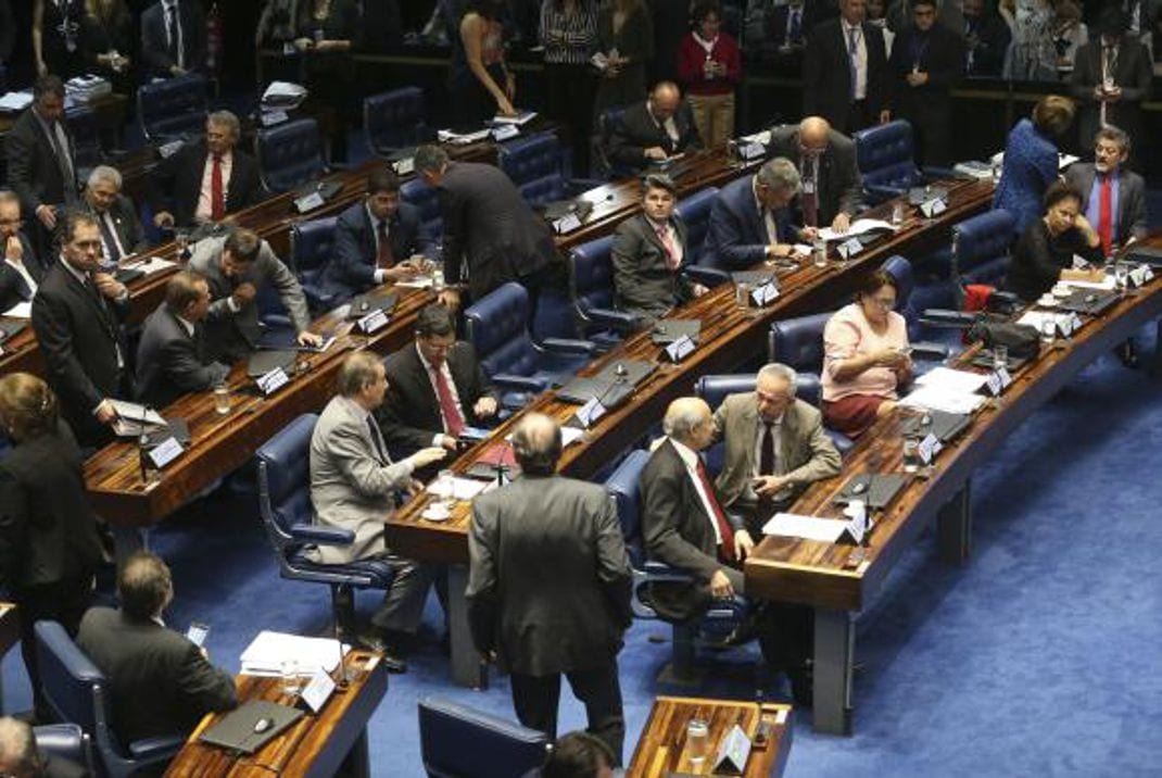 O Senado aprovou, em segundo turno, o texto-base da Proposta de Emenda à Constituição do Teto de Gastos (Antonio Cruz/ Agência Brasil)